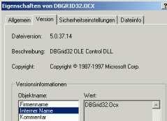 dbgrid32 ocx